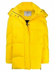 Woolrich Aurora hooded down coat - Yellow