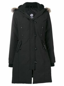 Canada Goose hooded zip-up parka - Black