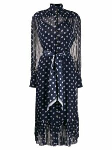 Zimmermann polka dot midi dress - Purple