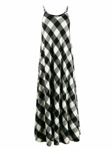 Woolrich gingham print dress - Black
