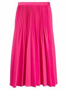 Kenzo pleated midi skirt - Pink