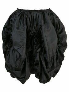 Comme Des Garçons high-waist ruffled skirt - Black