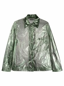 Our Legacy Square sheer shirt - Green
