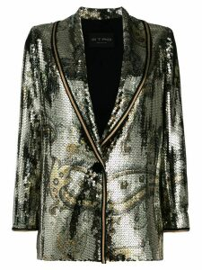 Etro sequin embellished blazer - Gold