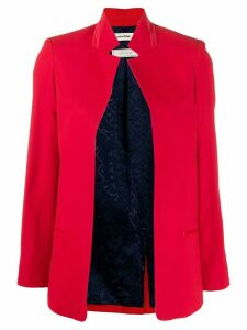 Zadig & Voltaire Volly boxy fit blazer - Red