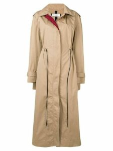 Victoria Beckham oversized trench coat - Neutrals