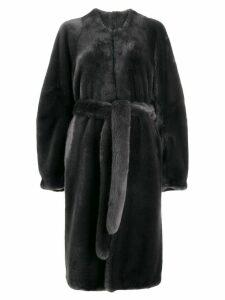 Vera Wang longline coat - Grey