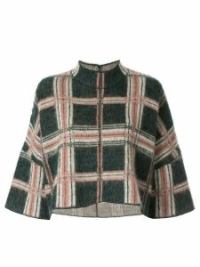 Anteprima Argyle Badge knit top - Green