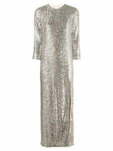 Zadig & Voltaire Fashion Show D Rising sequin dress - NEUTRALS