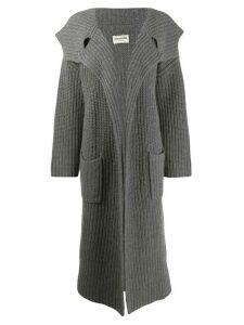 Zadig & Voltaire Fashion Show Lisandre cardi-coat - Grey