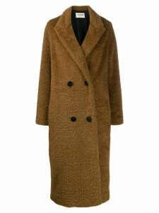 Zadig & Voltaire Fashion Show D Miko coat - Brown
