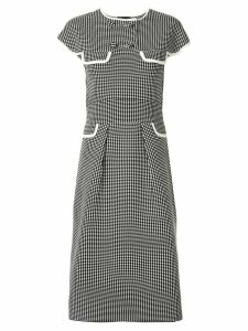 Anteprima Amossa jacquard dress - Black