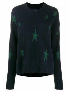 Zadig & Voltaire star-intarsia jumper - Blue
