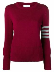 Thom Browne 4-Bar Milano Pullover - Red