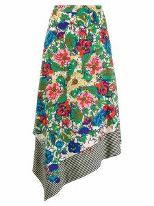 Essentiel Antwerp Texmex asymmetric skirt - NEUTRALS