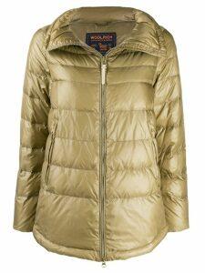 Woolrich zipped puffer jacket - Neutrals