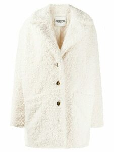 Essentiel Antwerp Tribal shearling coat - White
