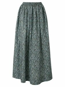 Matteau floral gathered skirt - Blue