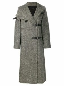 Isabel Marant single-breasted mid-length coat - Grey
