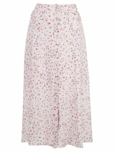 Nicholas floral print skirt - PINK