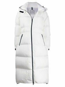 Moncler oversized padded coat - White