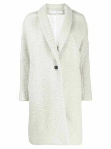 IRO button up coat - Grey