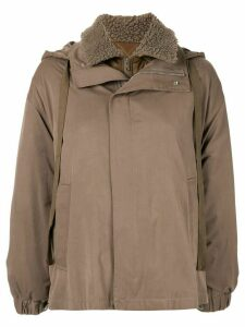G.V.G.V. short utility coat - Brown