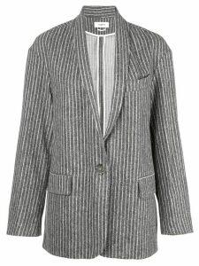 Isabel Marant Étoile pin stripe blazer - Grey