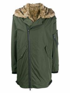 Zadig & Voltaire oversized parka coat - Green