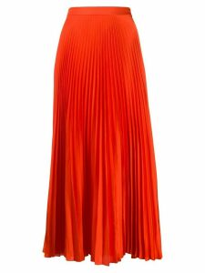 Stella McCartney Alpha pleated midi-skirt - Red