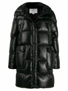 Woolrich padded zip up coat - Black