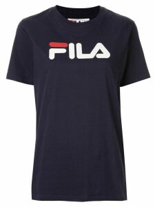 Fila printed logo T-shirt - Blue