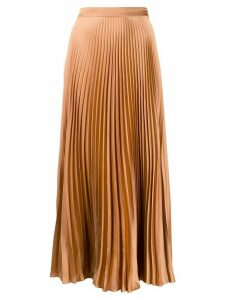 Stella McCartney pleated midi-skirt - Neutrals