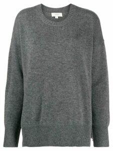 Áeron crew-neck knit sweater - Grey