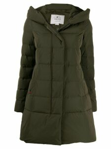 Woolrich hooded padded coat - Green