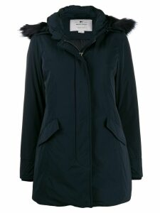 Woolrich hooded padded coat - Blue