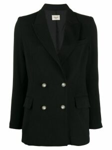 Jovonna double buttoned blazer - Black