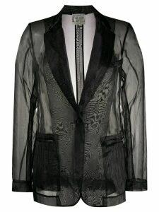 Forte Forte organza blazer - Black
