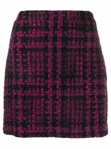 Andamane tweed fitted skirt - Black