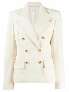 Alberta Ferretti double-breasted blazer - White