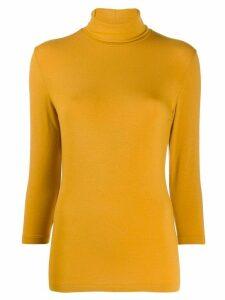 Circolo 1901 turtle-neck jumper - Yellow