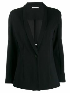 Stefano Mortari single-breasted loose blazer - Blue