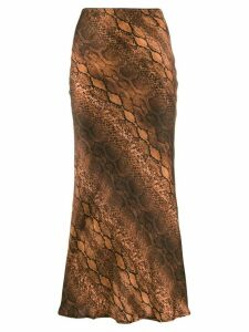 Andamane bias cut skirt - Brown