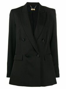 LIU JO double-breasted straight-fit blazer - Black