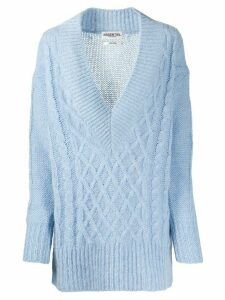 Essentiel Antwerp cable knit jumper - Blue
