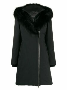 Mackage fur-trimmed collar down coat - Black