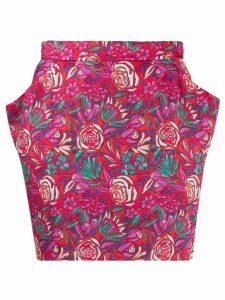 Roseanna Hendrix Turner floral skirt - Red