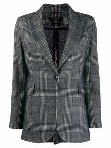 Circolo 1901 checked blazer - Blue
