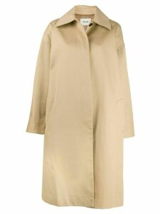 We11done oversized trench coat - Neutrals