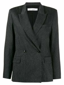IRO double-breasted peaked lapels blazer - Grey